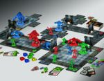 The layout of Doom: The Board Game. (Fantasy Flight Games)