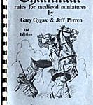 3.1) Chainmail's fifteen-page Fantasy Supplement formed the basis for Dungeons & Dragons. © 1971 Guidon Games.